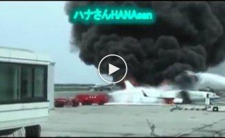 Крупные впечатляющие пожары и их тушение