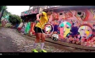 Футбольный фристайл от девушек (2014-2015)