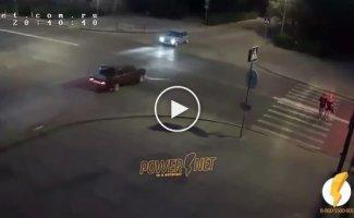 Аварии с мотоциклистами