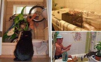 А для чего ты используешь ванну ? (31фото)