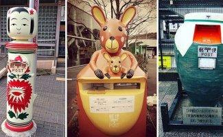 Необычные почтовые ящики Японии (16фото)