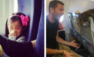 Свинство в небе: омерзительные примеры того, что позволяют себе в самолетах (48фото)