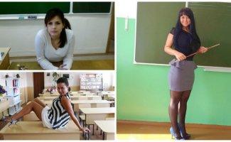 Учительницы, у которых на уроках не бывает проблем с посещаемостью (21фото)