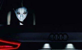 В Китае придумали стикеры на машины, чтобы проучить любителей ослеплять дальним светом (8фото+1гиф)