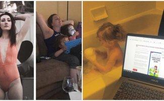 Родители поймут: 15 честных фото о том, как меняется жизнь с появлением детей (16фото)