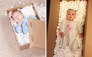 Вот что получается, когда пытаешься воспроизвести глянцевые детские снимки своими силами (38фото)
