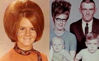 Размер имеет значение: ох уж эти женские прически 60-х (22фото)
