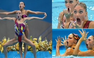 17 фотографий, которые доказывают, что синхронное плавание есть род помешательства (18фото)