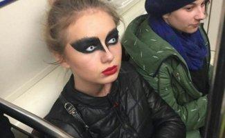 Модные люди в метро: осторожно, здесь может быть ваша фотография! (30фото)