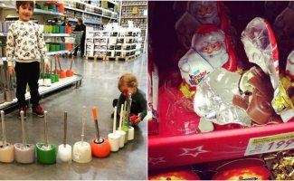 Теперь понятно, почему продавцы магазинов недолюбливают детей (23фото)