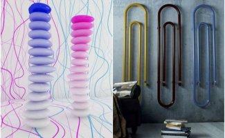 10 необычных радиаторов отопления (10фото)