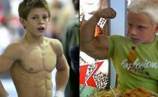 Самые сильные дети в мире (16фото)