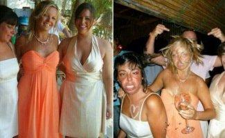 Интересные фото из серии «до и после» (14фото)