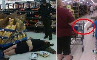 Покупатели магазина Walmart не перестают удивлять! (22фото)