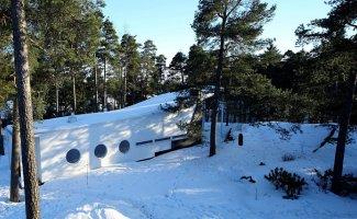 Дом из дерева в финском лесу (26фото)