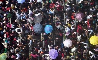 Перенаселенный Китай в фотографиях (20фото)
