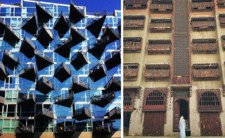 Невообразимо изящные балконы, которые не только смогли придумать, но и построить (21фото)