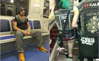 Мода российского метро: фрики из подземки (37фото)