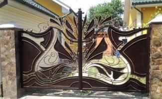 Необычные ворота (21фото)