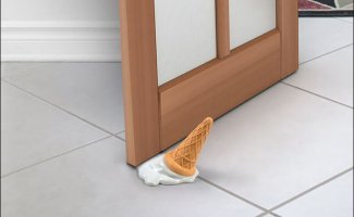 Забавные дверные ограничители (15фото)