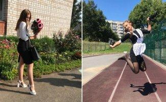 Фотки старшеклассниц, которые они сами выложили в сеть (25фото)