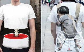 15 самых инновационных футболок, которые не каждый решится надеть (16фото)