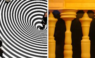 30 иллюзий, которые заставят вас протереть глаза (31фото)