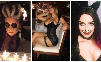 Российские знаменитости, которые одеваются на Хеллоуин в нечисть (16фото)