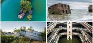 Забыты во времени: 26 заброшенных объектов, которые оставили ржаветь и разрушаться (27фото)