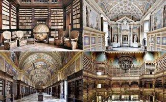 Самые красивые библиотеки мира (42фото)