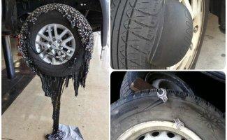 Неприятные сюрпризы на дороге: 13 случаев, когда колесо в мясо (14фото)