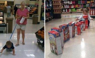 20 детей, с которыми вы точно никогда не захотите пойти в магазин (21фото)