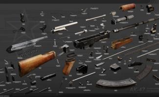 Анатомия оружия или оружие в разобранном виде. Фотоподборка (33фото+1видео)