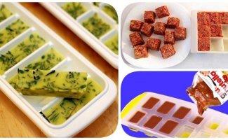 8 полезных идей для кухни: что заморозить в формочке для льда? (9фото)