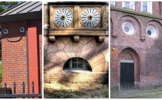 Дом с глазами и непростым характером: 20 оживших зданий (21фото)