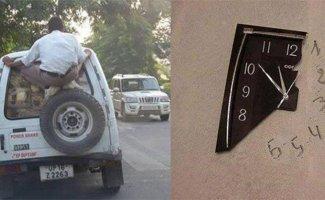 Жизнь в Индии перевернута с ног на голову! (16фото)