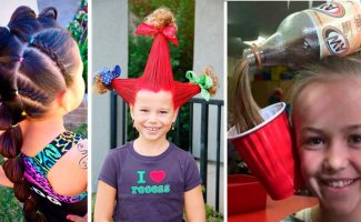 25 идей ко Дню дурацких причесок (29фото)