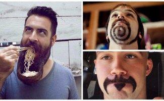 Усачи и бородачи демонстрируют предмет своей гордости (15фото)
