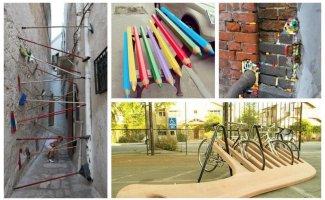 Арт-объекты, меняющие облик города к лучшему (20фото)