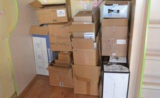 Достали картонные коробки от бытовой техники, захламляющие балкон? Вот что можно из них сделать (25фото)