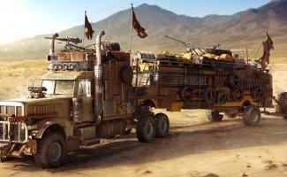 Машины для апокалипсиса! Реальные образцы и фантазии (41фото)