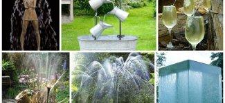 Поразительные фонтаны и водопады (29фото+1видео)