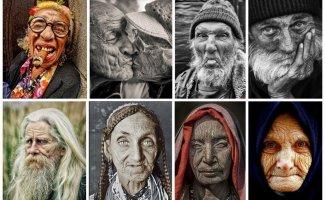 Лица с отпечатками времени (31фото)