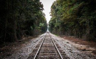 Железная дорога уходит за горизонт (36фото+2видео)