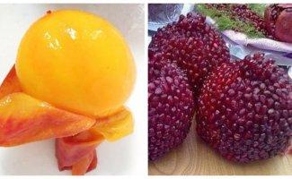 Фрукты, овощи и ягоды без кожуры: красиво или безобразно? (17фото)