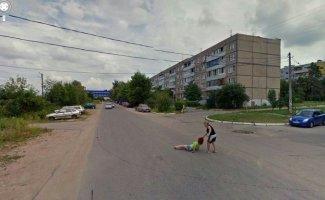 Самые странные и непонятные вещи, попавшие в камеру Google Maps (33фото)