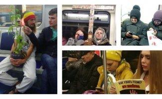 Стильно, модно, молодежно: люди российской подземки (18фото)