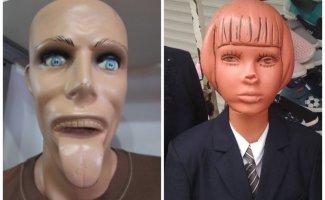 15 ужасных манекенов, которые абсолютно точно не должны были появиться в магазине (16фото)