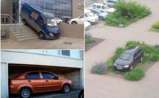 Умники, которые паркуются так, что ни в сказке сказать, ни пером описать (18фото)