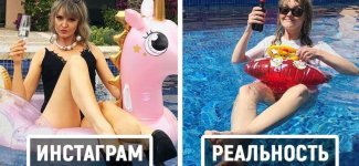 Девушка из Германии показывает, как выглядят идеальные снимки за пределами Инстаграма (16фото)
